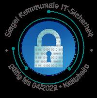 Siegel Kommunale IT Sicherheit Kolitzheim